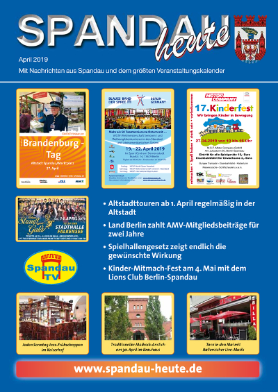 Spandau Heute April 2019